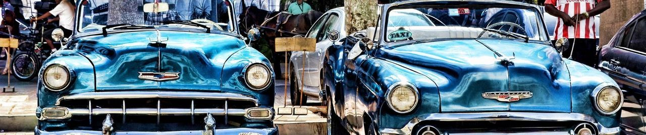 Classic cars, spare parts and workshop tools